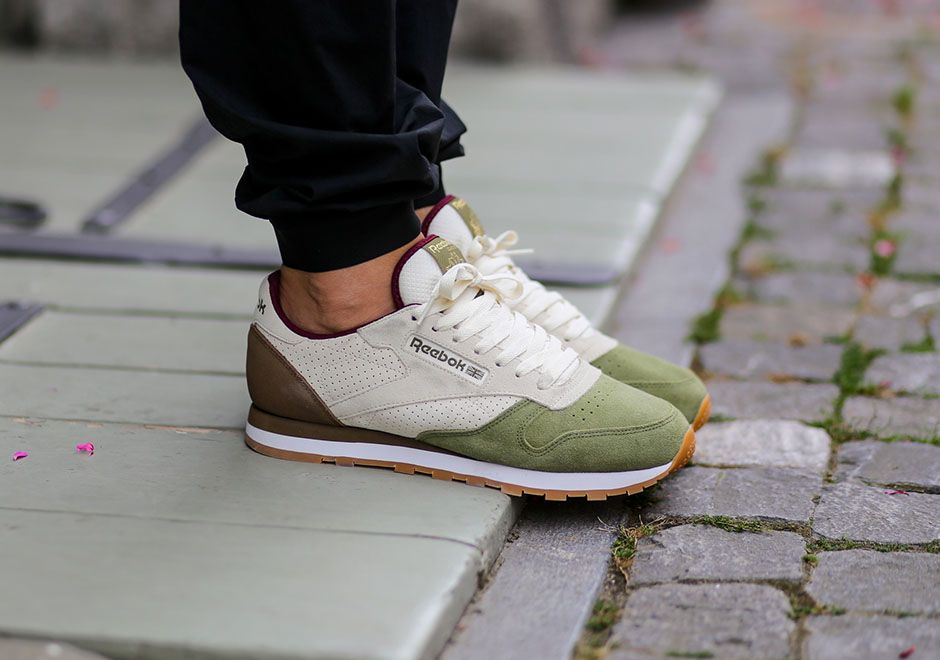 0906d64f699 The Reebok Classic Leather Is Ready For Fall With These Two New Suede  Options • KicksOnFire.com