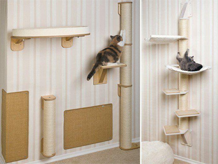 kratzbaum selber bauen 67 ideen und bauanleitungen selber bauen kratzbaum. Black Bedroom Furniture Sets. Home Design Ideas