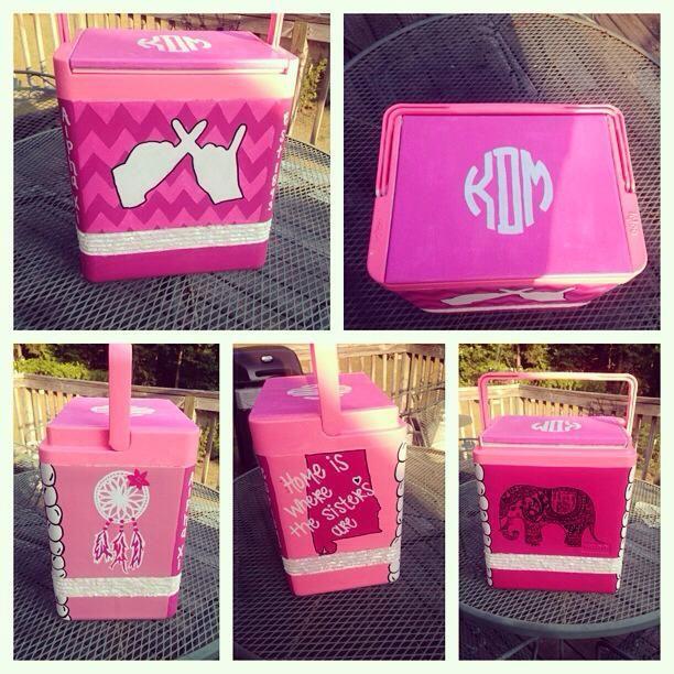 Pink cooler!!!