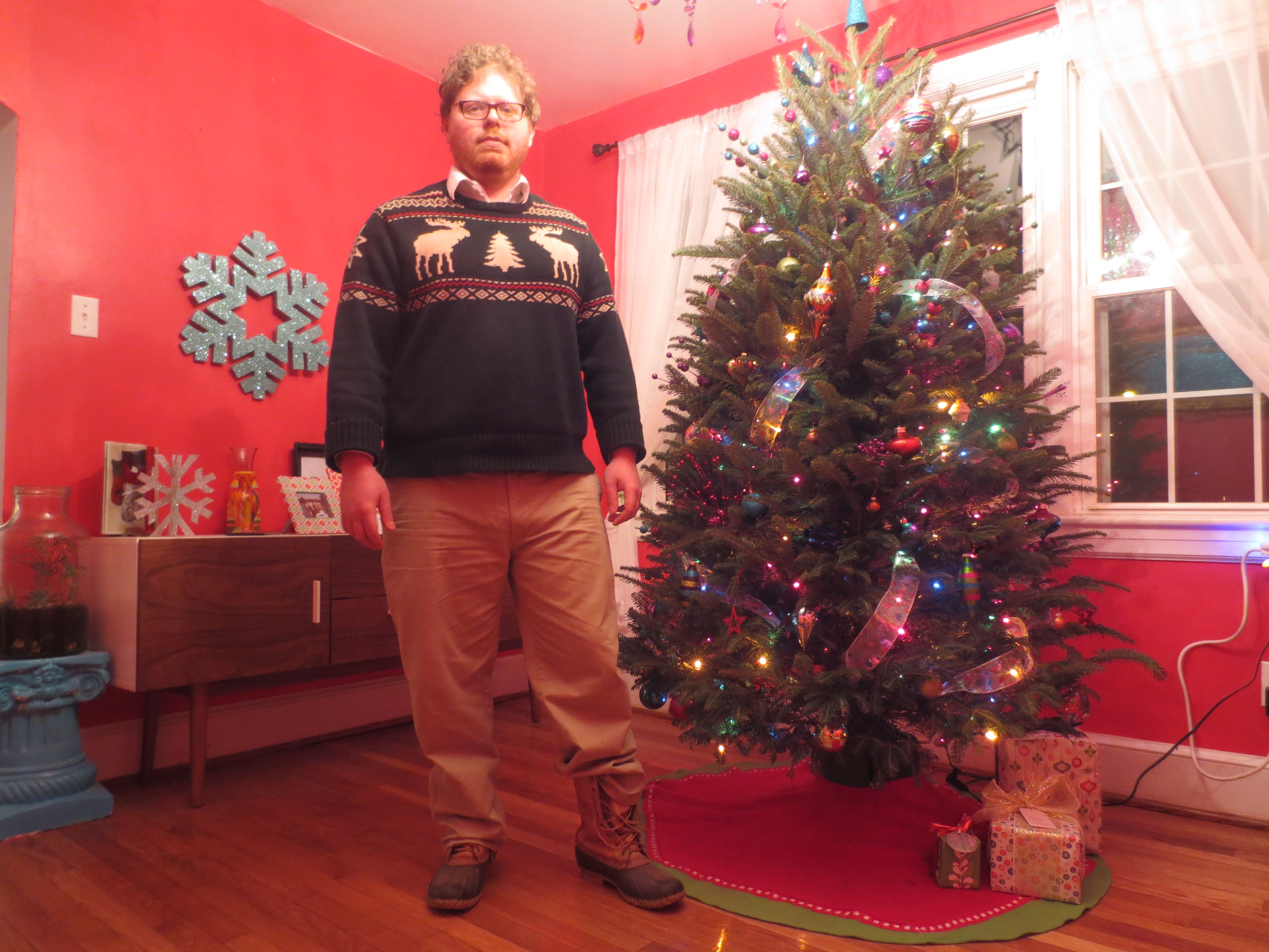 Day 10 of Donning My Gay Apparel   Menswear Christmas/holiday festive   http://theostentatiousgentleman.blogspot.com/2013/12/25-days-of-donning-my-gay-apparel-day-10.html