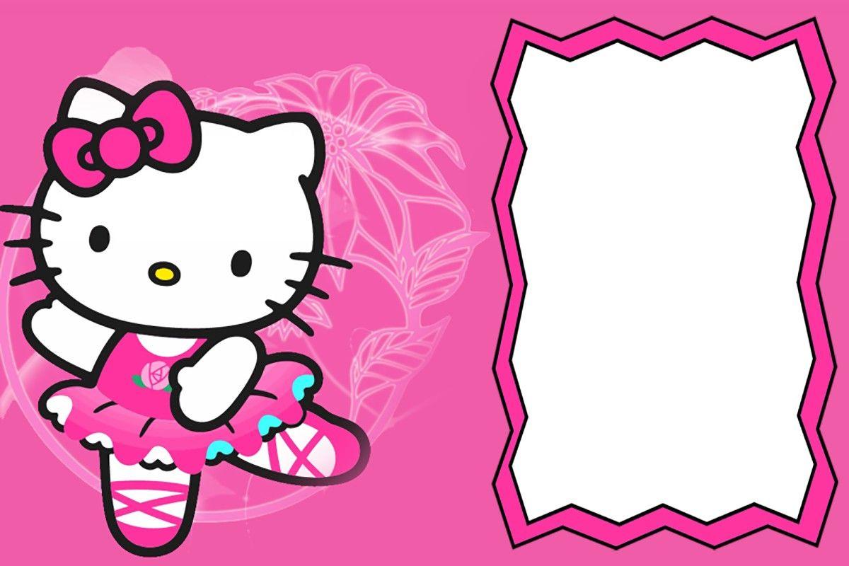 Cute Hello Kitty Party Invitaton Card Invitations Online