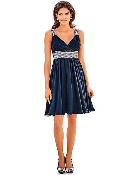 Ashley Brooke Event - Cocktailkleid nachtblau im Heine Online-Shop ...