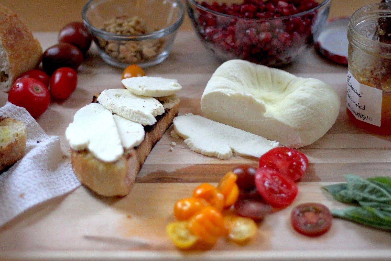 Jenessa's Dinners: Fresh Cheese and Tartines