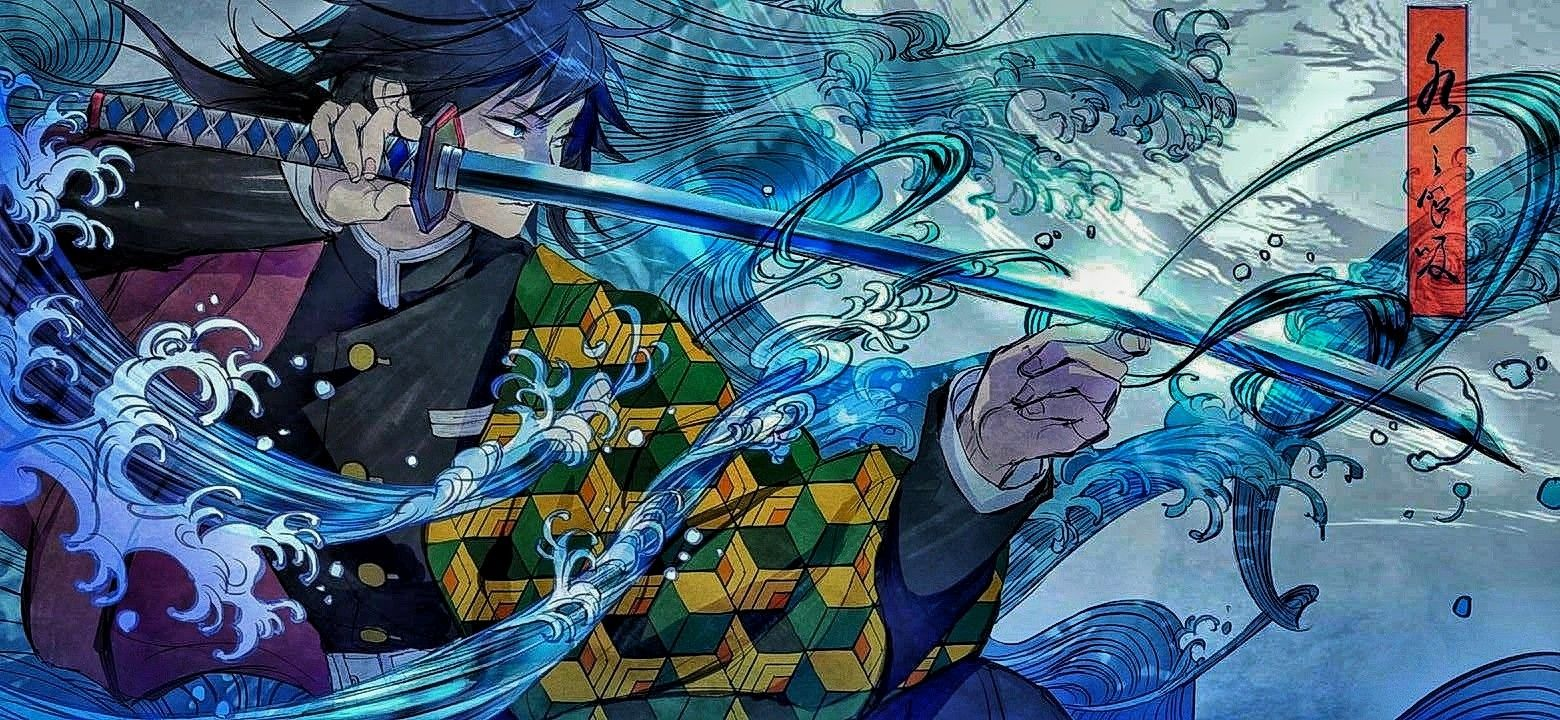 Demon Slayer Giyu Tomioka Samurai Wallpaper Anime Samurai Anime 10 wallpaper anime samurai