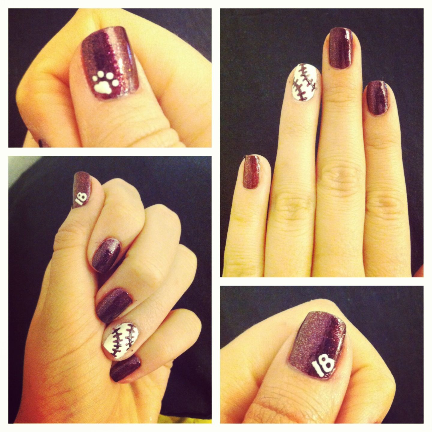 Mississippi State Omaha baseball nails! I wish I would have seen ...
