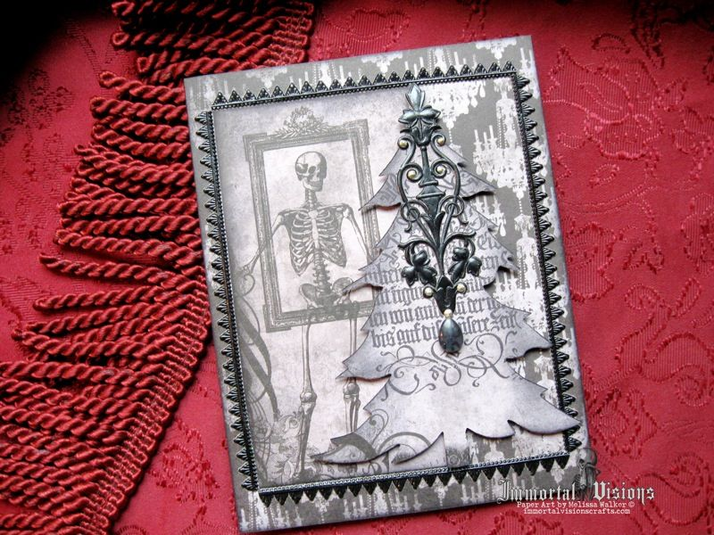 Gothic Christmas Card | Immortal Visions Crafts | Pinterest ...