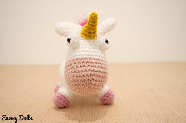 Unicornio Agnes Mi Villano Favorito Tejido Amigurumi Croche ...   399x600
