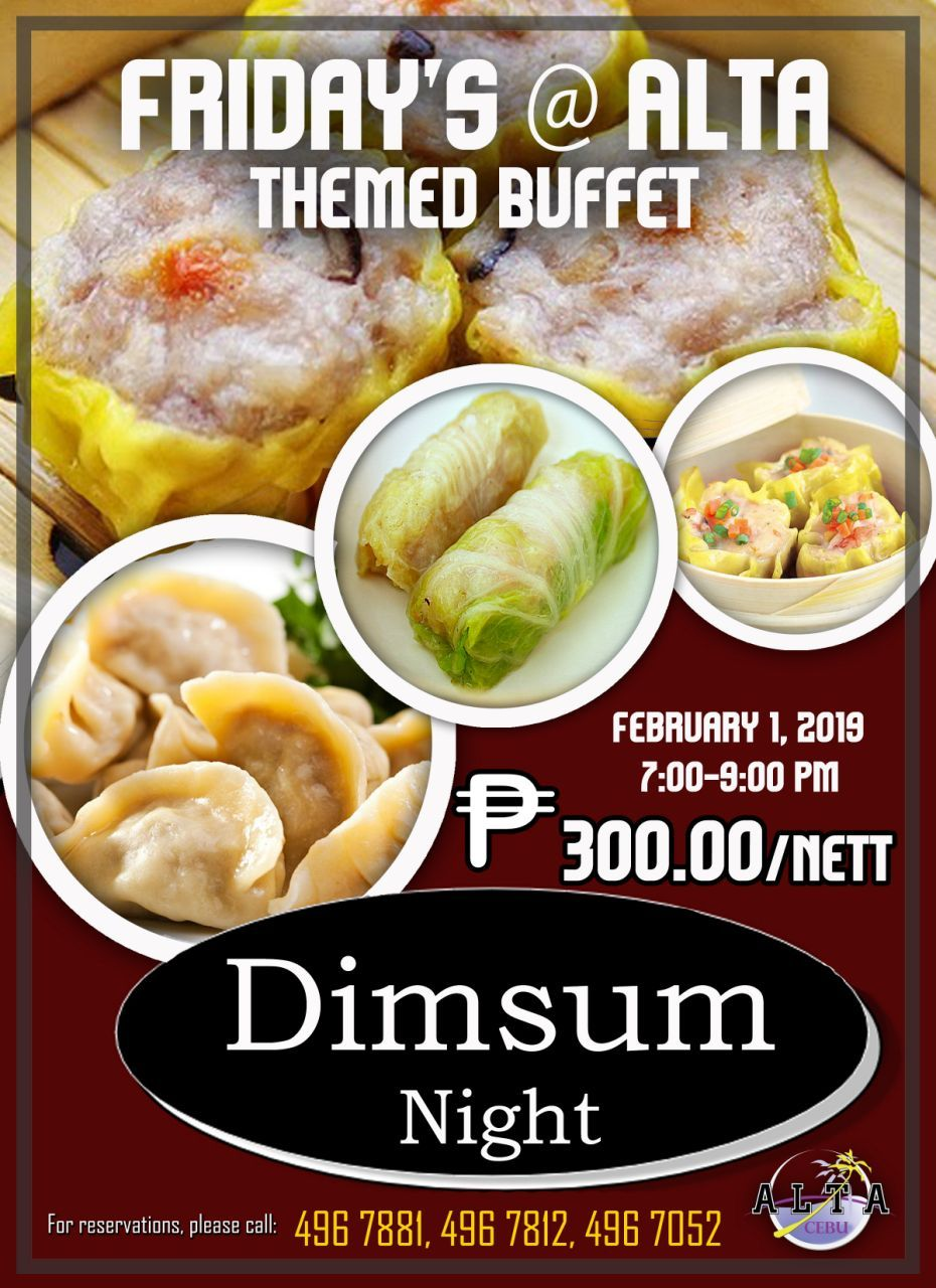 One Night Is Not Enough To Serve You The Best Of Chinese Cuisine Enjoy Delicious Dimsum Palate And More This Coming Februar Chinese Dishes Night Dinner Dinner