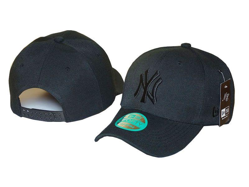 MLB New York Yankees Baseball Caps Black  3a90c632ff09