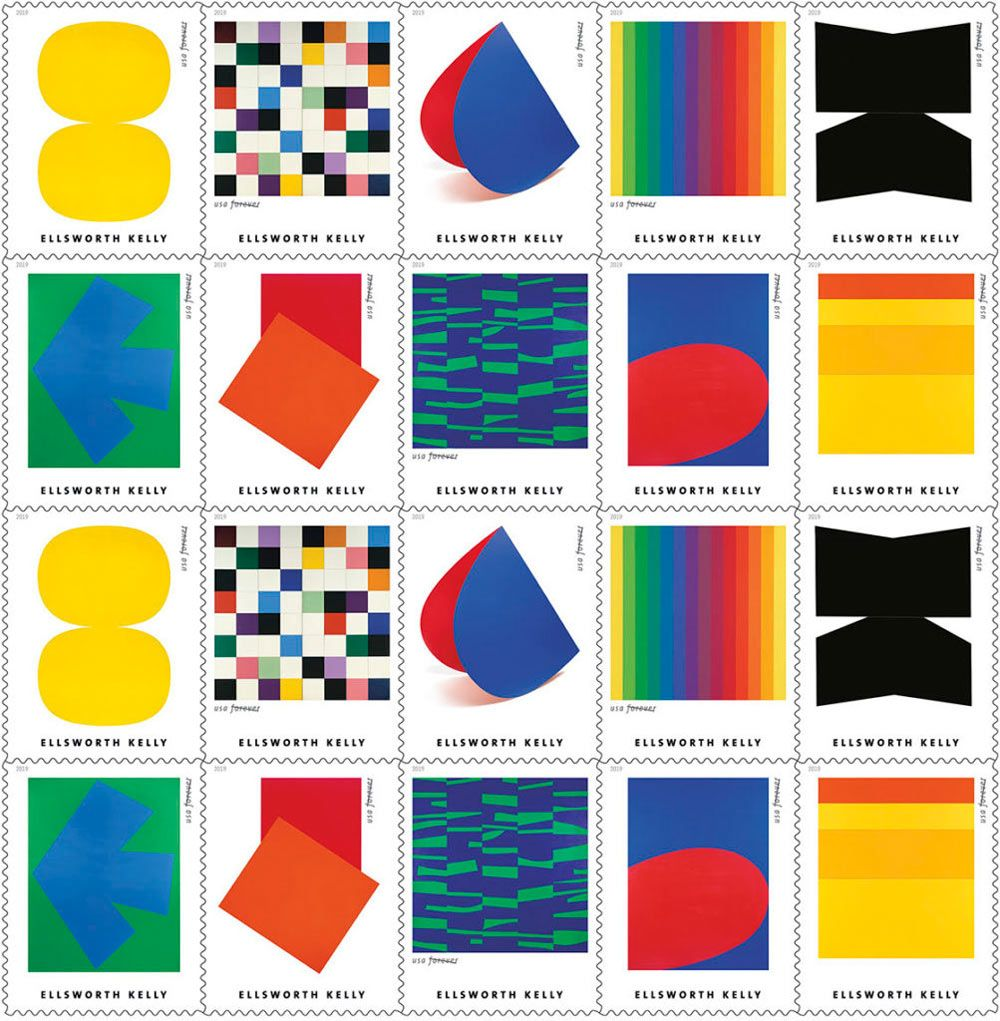 The USPS Is Making All of Our Ellsworth Kelly Dreams Come True - Design Milk