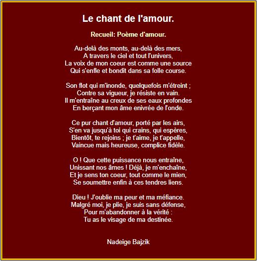 Poesie D Amour Poemes D Amour En Images Poeme Poeme D Amour Texte Romantique