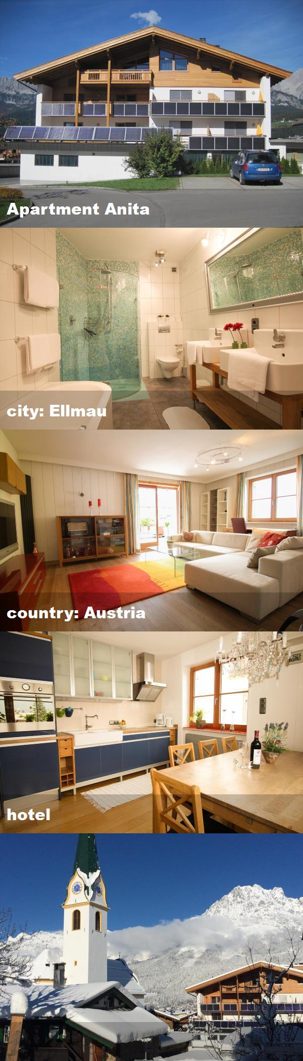 Apartment Anita, city Ellmau, country Austria, hotel