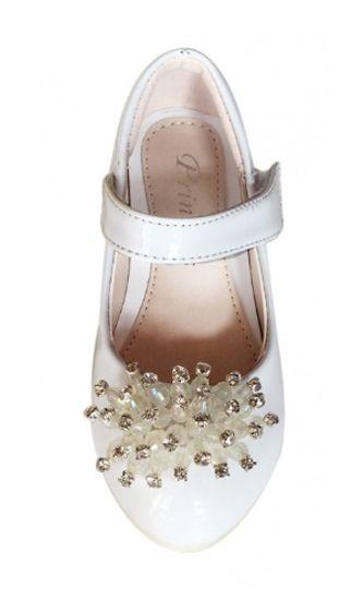 299aeb20a7d Παπουτσια, Γοβες Για Κοριτσια με Τακουνια Για Παρανυφακι - Παρτυ σε ΛΕΥΚΟ