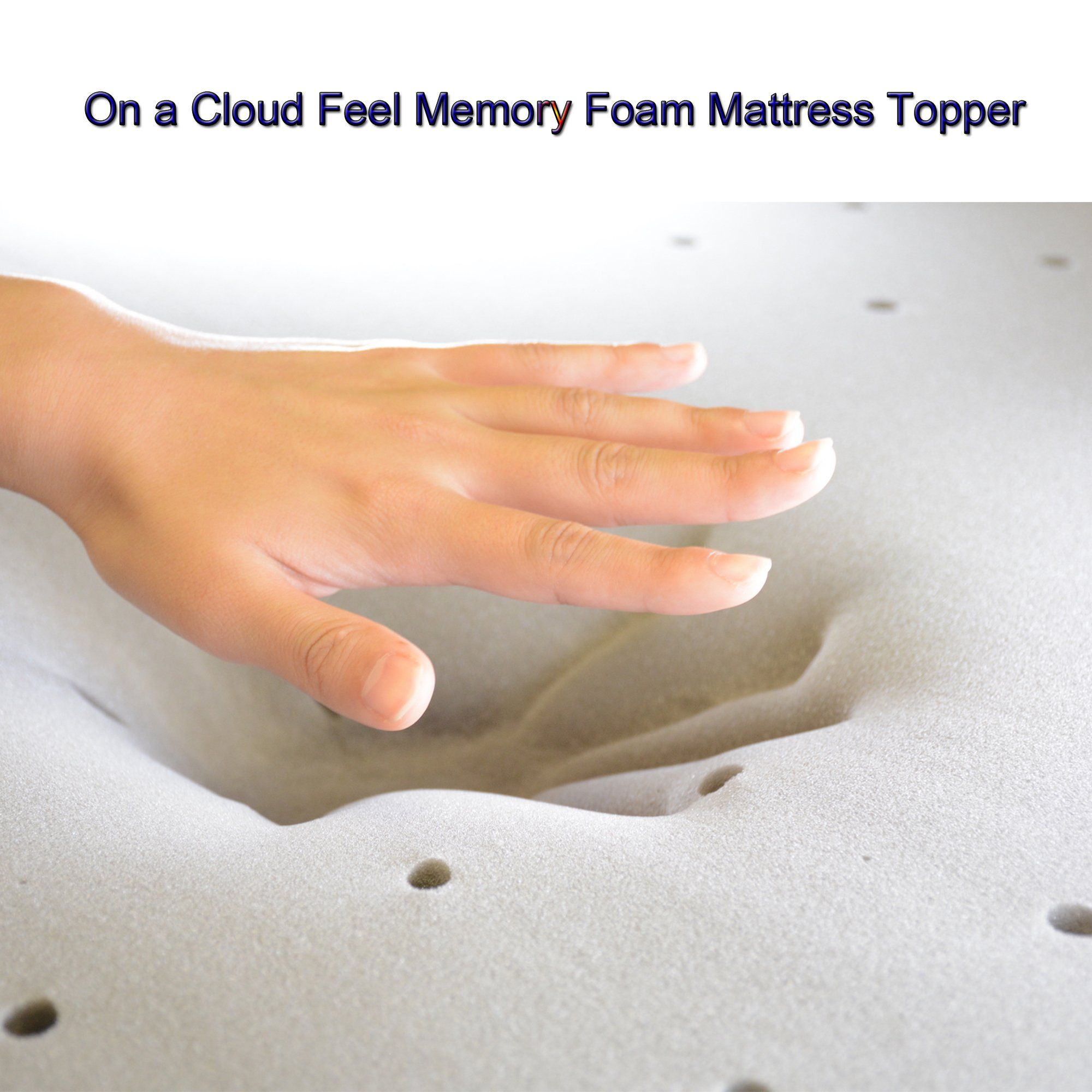 memory foam mattress topper queen 3 inch safe for baby mattress