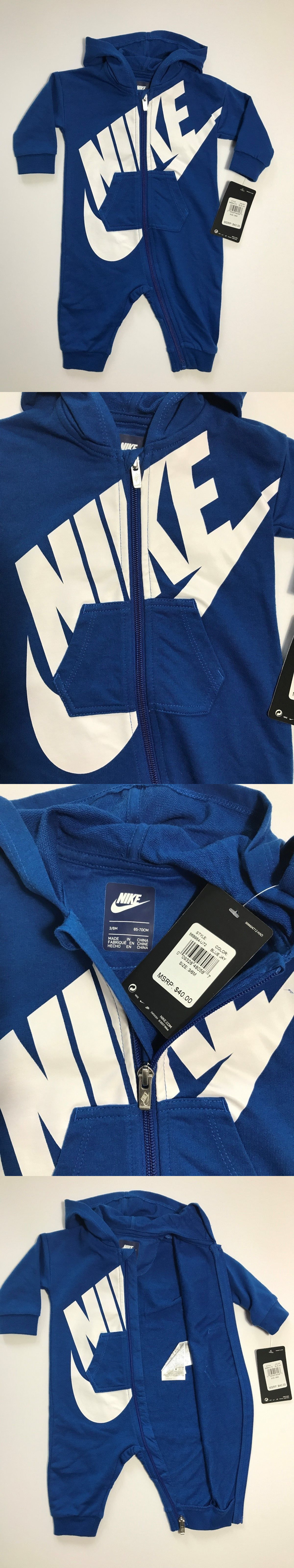 df623fec65c9 Outfits and Sets 147333  Nwt Nike Futura Infant Coverall Hoodie Outfit 3 6M  6 9M 9 12M Blue Jay  40 Cute! -  BUY IT NOW ONLY   32 on eBay!