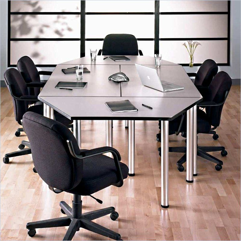 Bush Bbf Aspen Octagonal 8 9 Conference Table In White Spectrum Aspenpkg Furniture Conference Table Bush Business Furniture