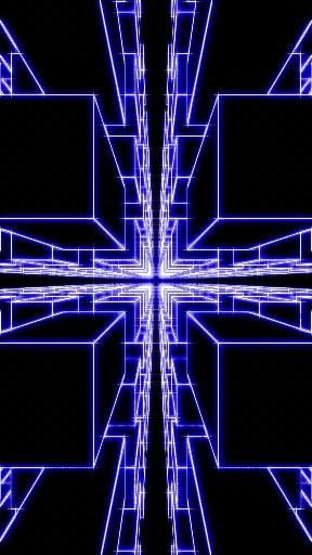#3d cubes tunnel. Сubic #tunnel 3D animation. 3D #endless tunnel Movement. VJ Loop. #Futuristic.