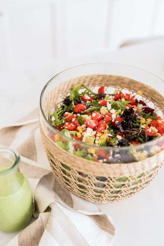 Summer Salad Dressing Summer Salads Salad Toppings Salad [ 1500 x 1000 Pixel ]