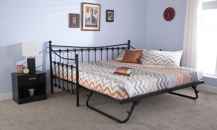 Best Tennessee Daybed Trundle Or Set With Optional Bonnell 400 x 300