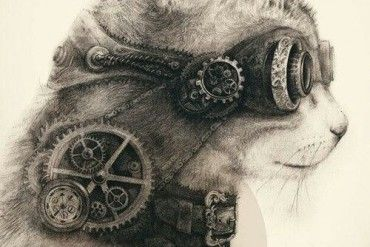 steampunk tattoos for men - Google Search
