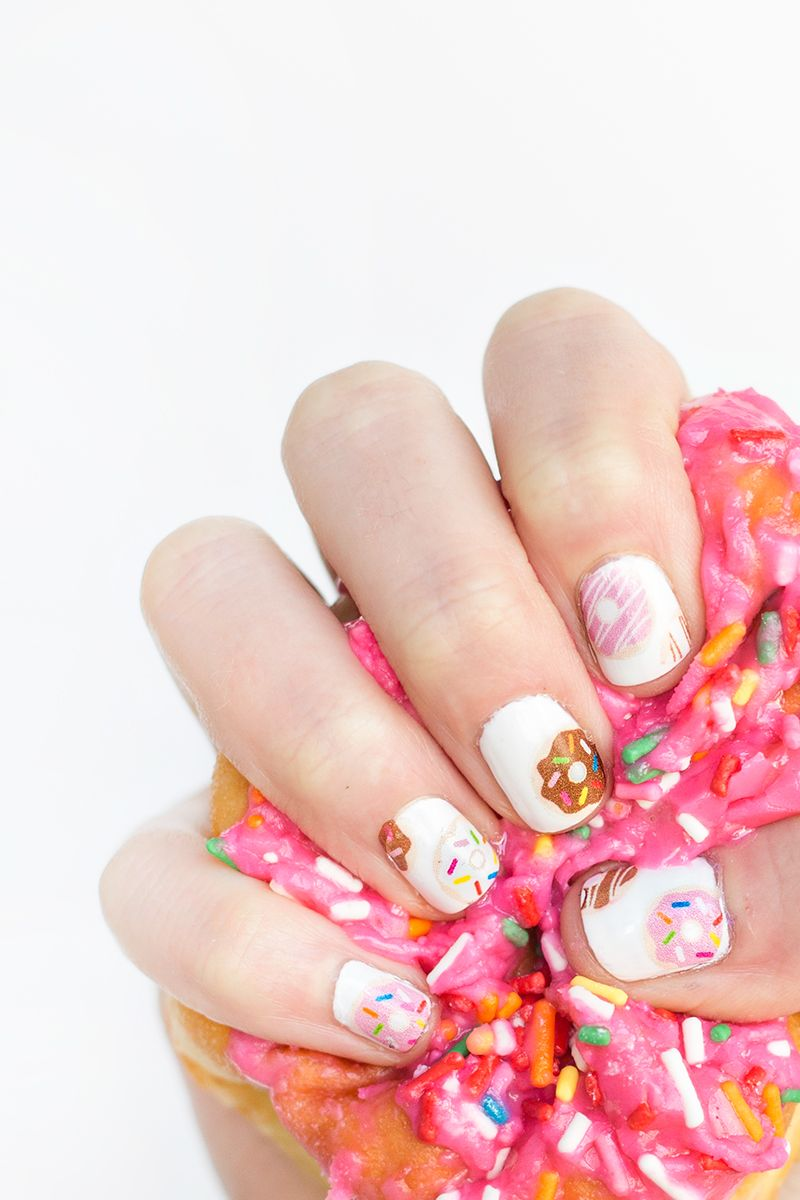 Donut Nail Decals