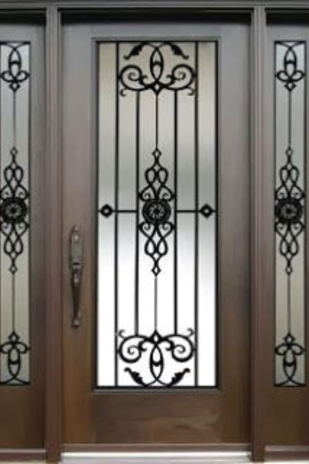 Modern Iron Doors Ideas To Make Your Entrance Look Beautiful