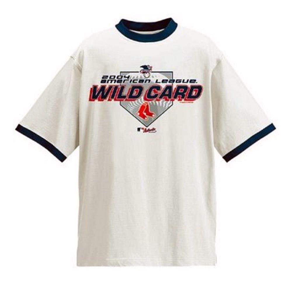 New 2004 American League WILD CARD Boston Red Sox Vs