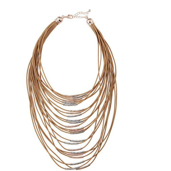 Fragments Multi-Strand Statement Necklace