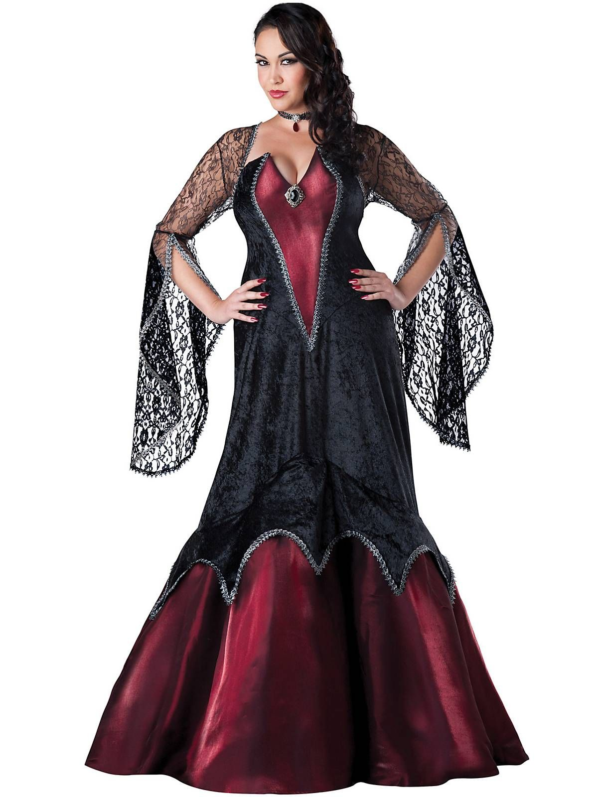 Women's Plus Size Plus Size Piercing Beauty Costume