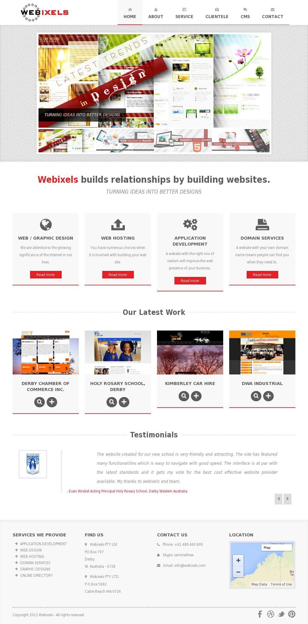 Best Web Design Company Wa Top Graphic Design Kimberley Broome Web Design Web Graphic Design Web Design Company