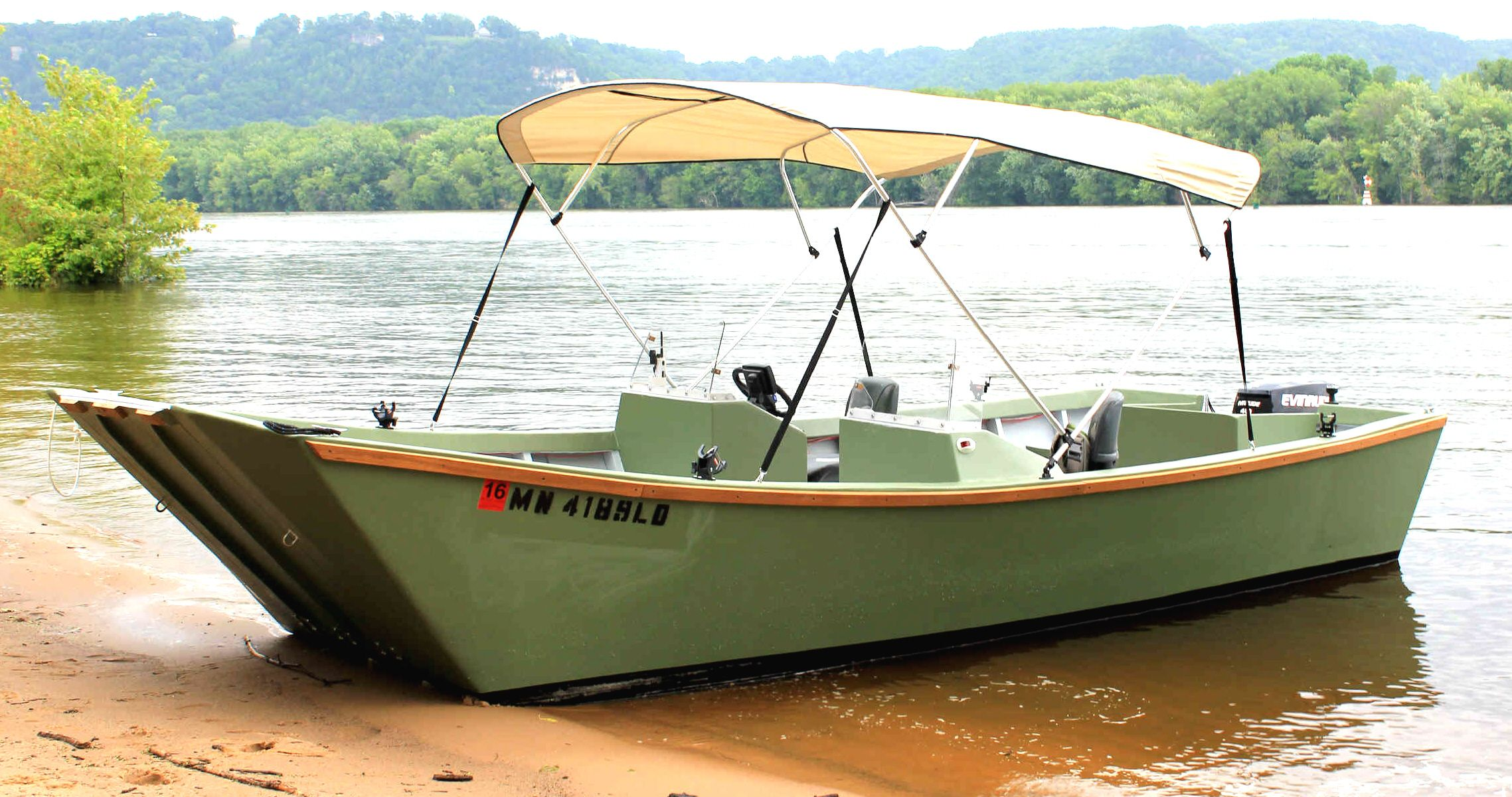 Easy To Build Garvey Wood Boat Plans | Survivalist | Pinterest | Boat plans, Wood boats and Boating