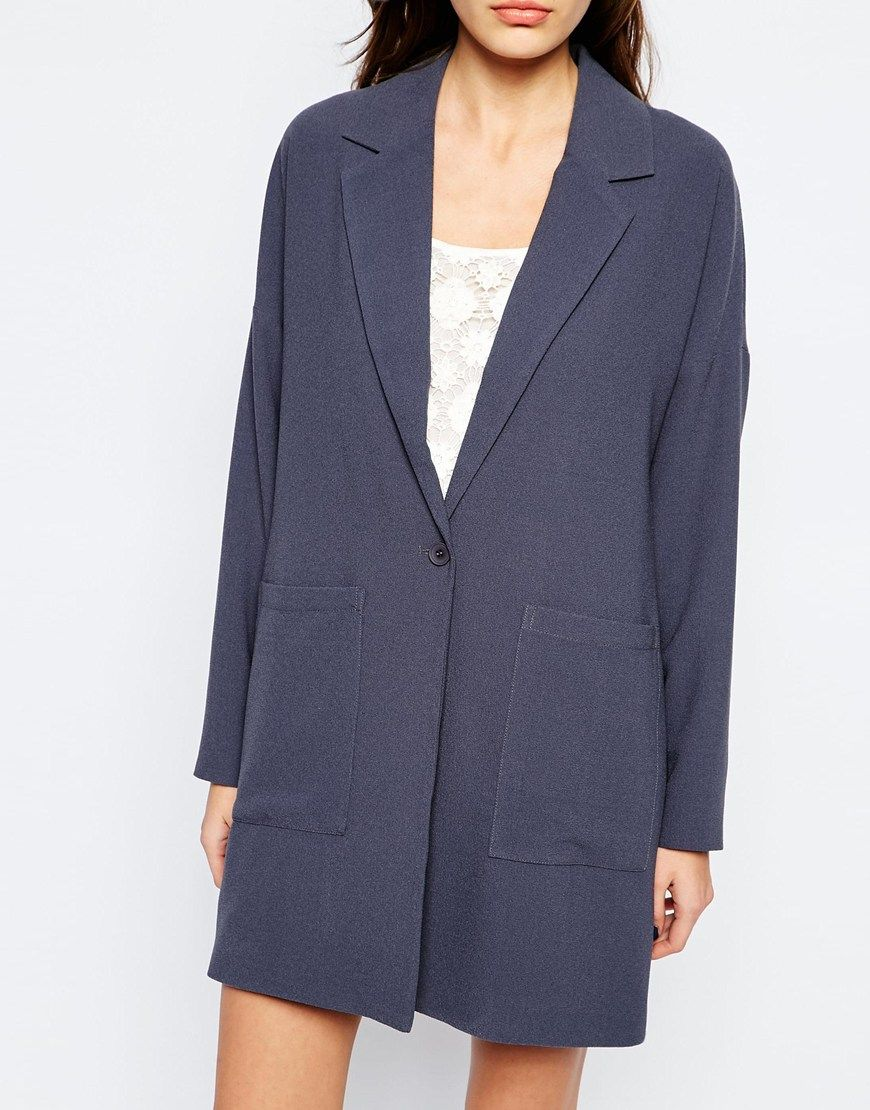 Image 3 ofVero Moda Longline Blazer