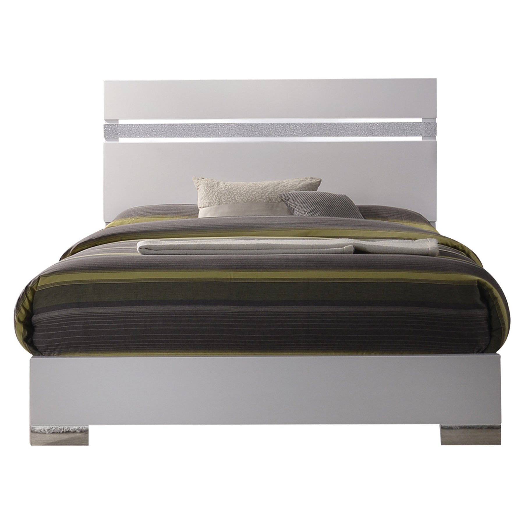 Acme Furniture Naima Ii Low Pro Panel Bed  26767Ek