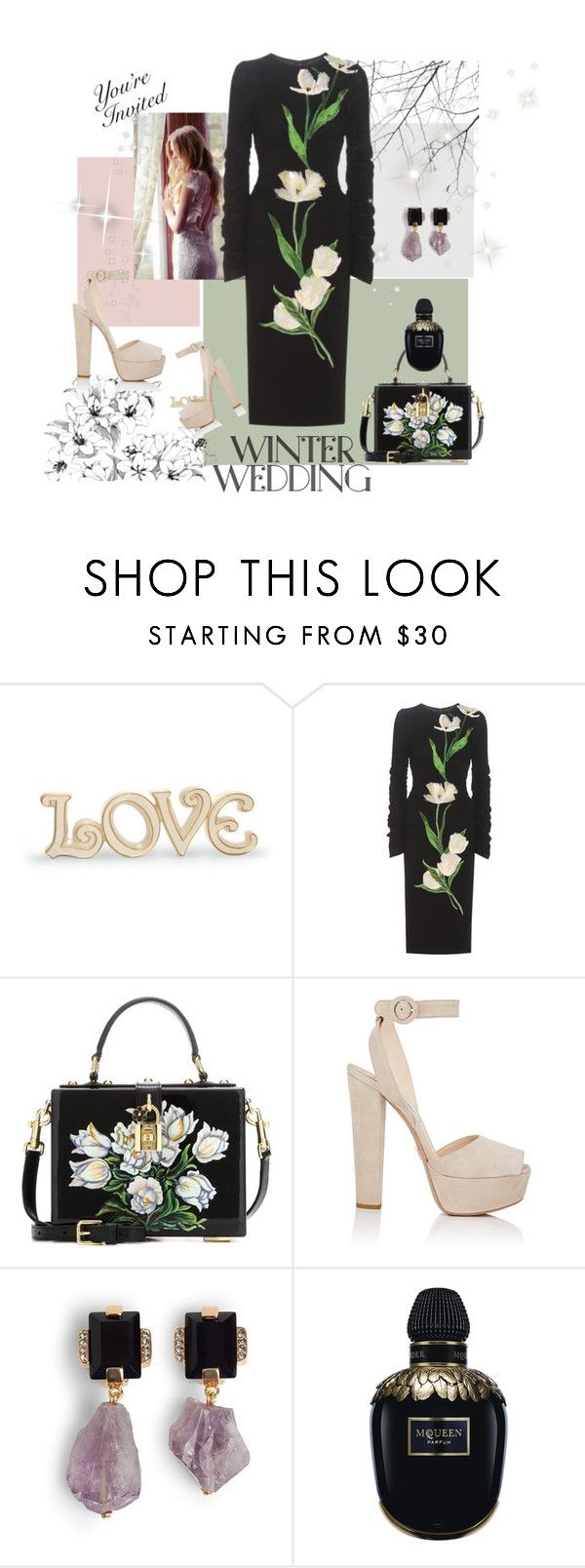 """Untitled #180"" by ohnoflo on Polyvore featuring Lenox, Dolce&Gabbana, Prada, Marni and Alexander McQueen"