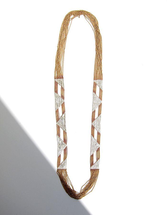 Triangle Window Necklace