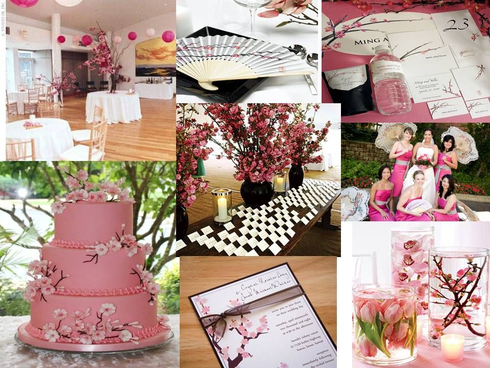 afternoon tewedding theme ideas%0A Cherry Blossom Wedding Theme Favors and Supplies  The cake