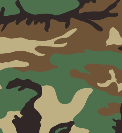 2d Tarnungen Camouflage Tarnung Strichzeichnung