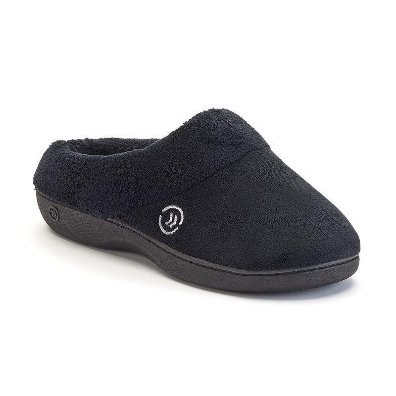 isotoner Classics Women's Memory Foam Clog Slippers