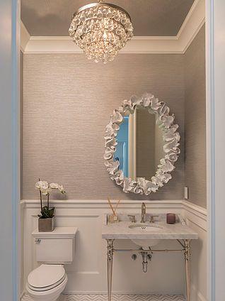 40 Stylish Powder Rooms Kim Wiederholt Design Blog