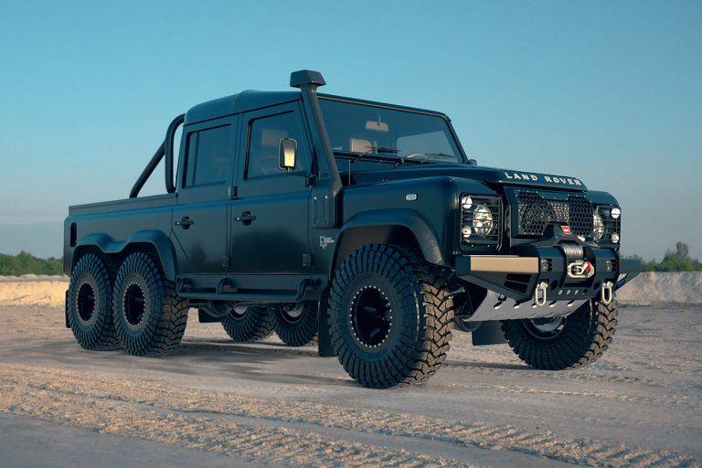 Land Rover Black Mamba Defender 6x6 Truck 6x6 Truck Land Rover