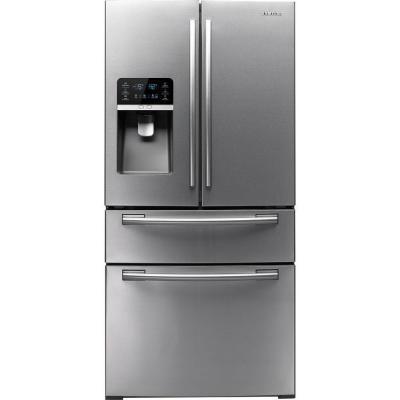 Samsung Refrigerator 33 In W 26 Cu Ft French Door Refrigerator