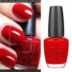 OPI red I have this color and love it.