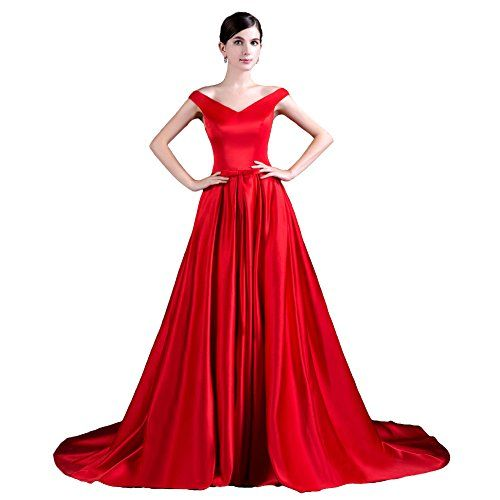 YSFS Women's V-neck Long Prom Evening Dresses Red US6 YSFS http://www.amazon.com/dp/B01ABKHCUY/ref=cm_sw_r_pi_dp_RMlkxb1EVT625