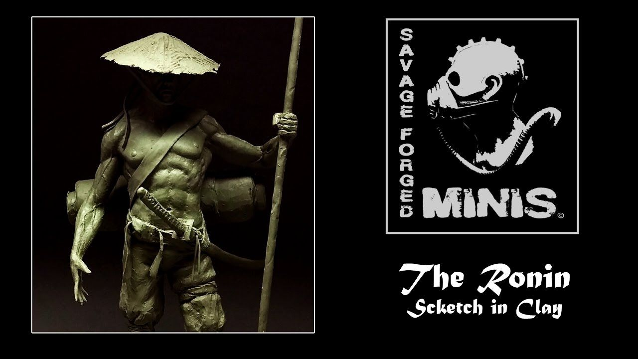 """The Ronin """"A Journey Sketched in Clay """""""
