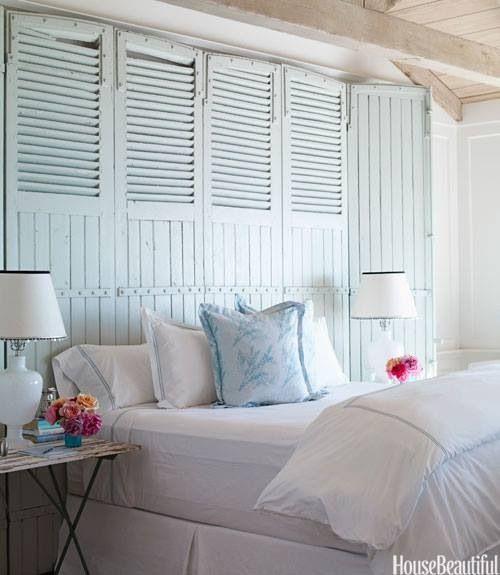 Light Blue Master Bedroom: Round Up: Seaside Coastal Bedrooms