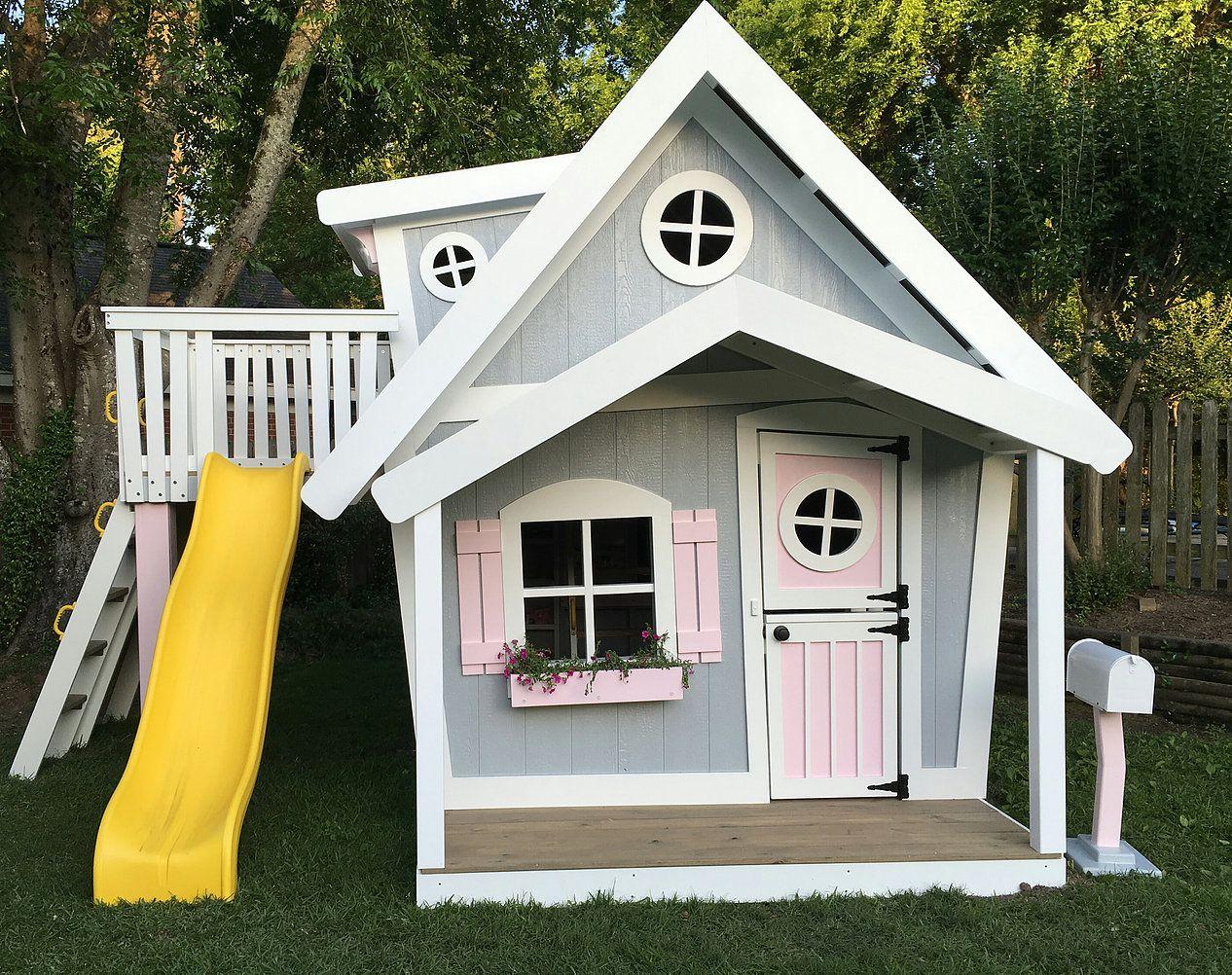 Imagine That Playhouses The Big Playhouse Xl Play Houses Big Playhouses Backyard Kids Play Area