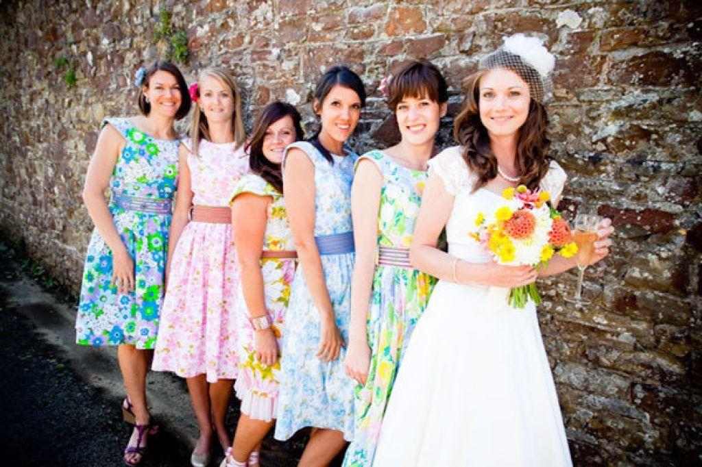 Print Bridesmaid Dresses Floral Bridesmaid Dresses Unique Bridesmaid