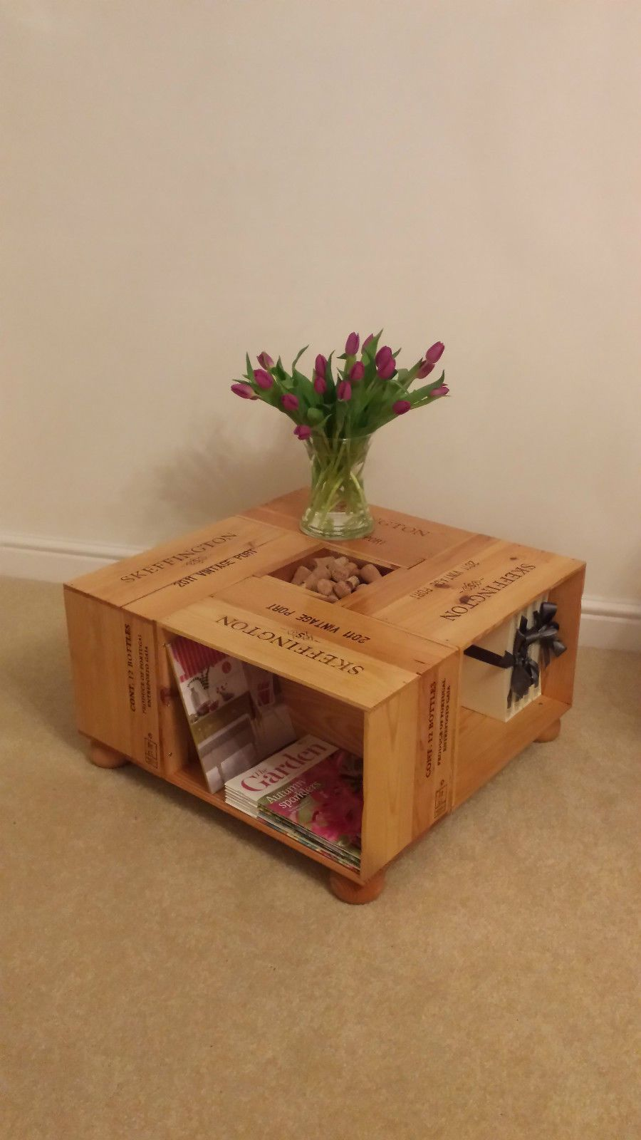 Wine or Port case Coffee Table | eBay
