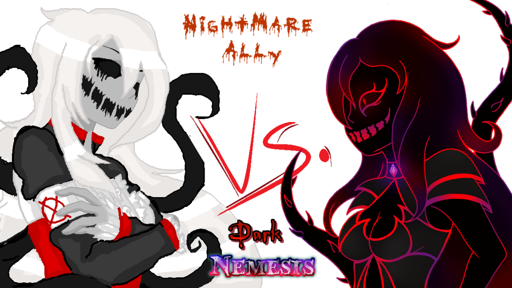 Nightmare Ally vs. Dark Nemesis by darkangel6021