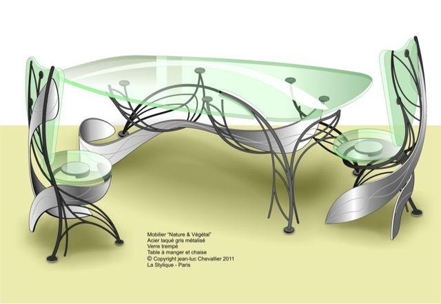 Table Et Chaise Design La Stylique Escalier Design Stylique Table Design